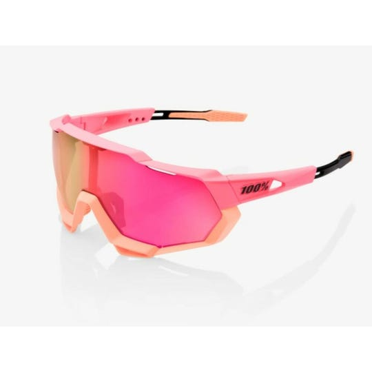 SpeedTrap Sunglasses | Matte Washed Out Neon Pink