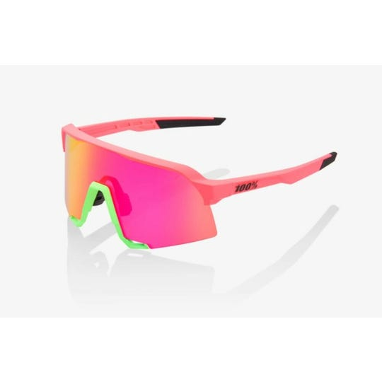 S3 Sunglasses | Matte Washed Out Neon Pink