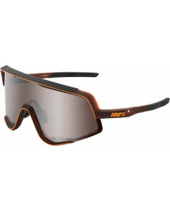 Glendale Sunglasses | Matte Translucent Brown Fade