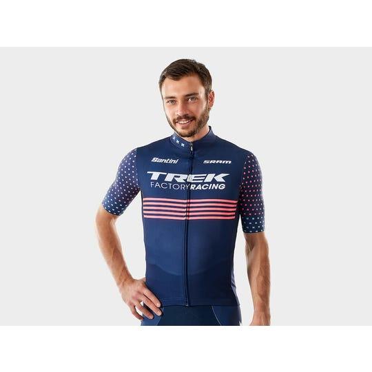 Santini Trek Factory Racing Replica Jersey | Men's