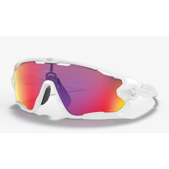 Jawbreaker Sunglasses | Polished White Prizm Road