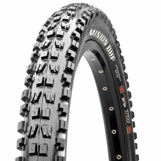 Minion DHF 3C MaxxGrip, 2-Ply, Wide Trail, 60 tpi, TR Tire | 26''