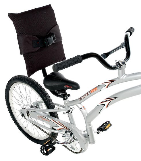 Back rest for Adams Trail-a-bike