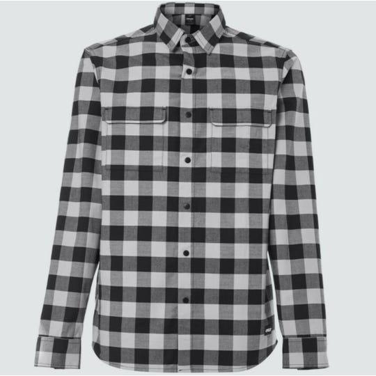 Chemise Checkered Ridge à Manches Longues   Hommes