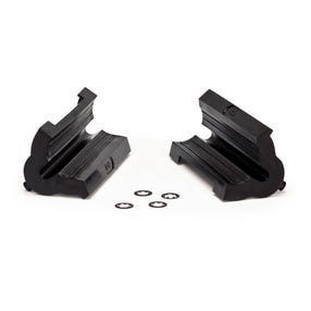 Replacement clamp covers with double cable routing 468B