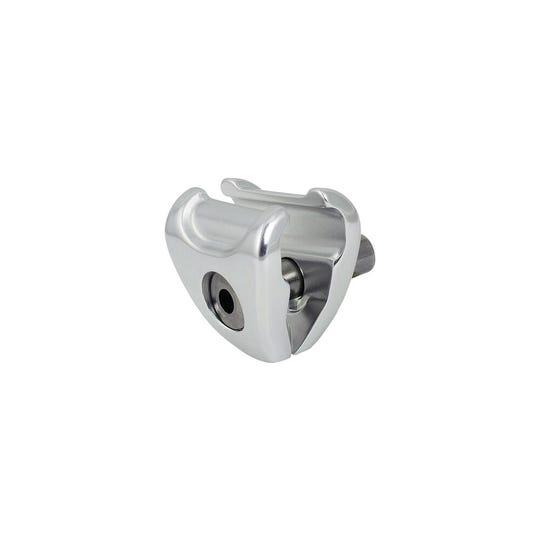 Rotary head seatpost saddle clamp ears