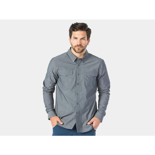 Chemise Cycliste Adventure Chambray | Homme