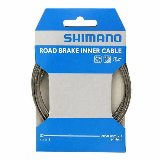 Brake cables stainless steel road