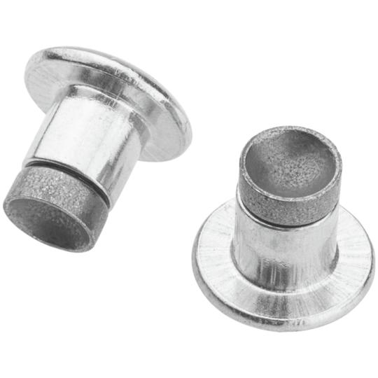 Clous XL Concaves Aluminium/Carbide   Paquet de 300