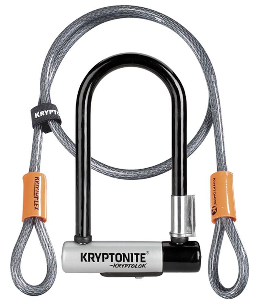 Kryptonite Antivol U Kryptolock Serie 2 Mini 7 Color Double Verrouillage