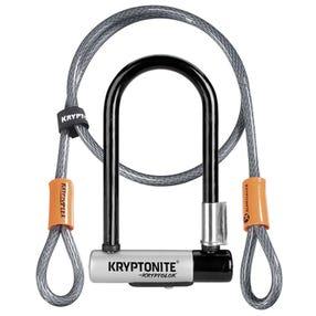 Cadenas en U KryptoLok Mini-7 avec Câble 4'