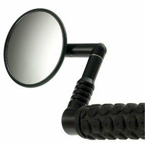 Mirrycle mirror for mountain and hybrid bikes
