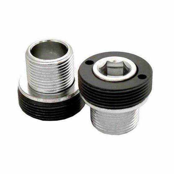 Dust cover bolt for MTB crankset