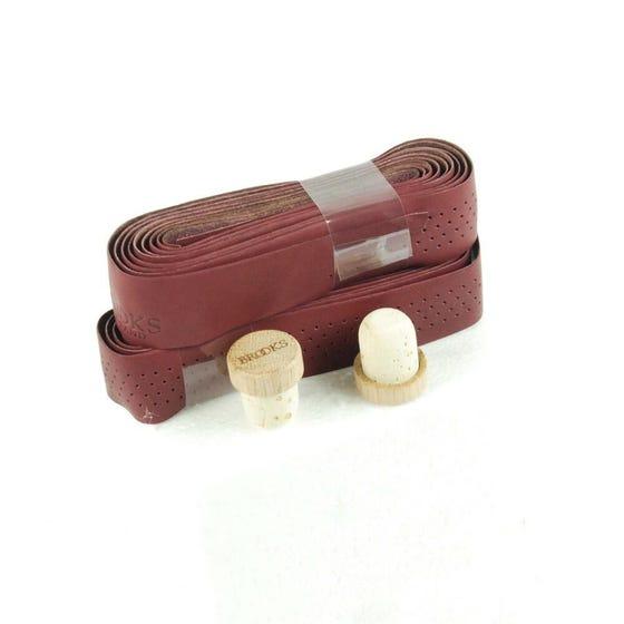 Brooks Perforated Leather Tape + Cork Plugs