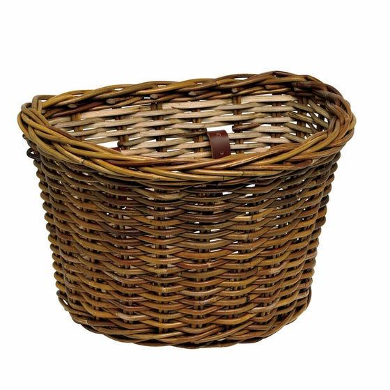 Front Basket Wicker