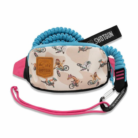 MTB Tow rope & hip pack combo