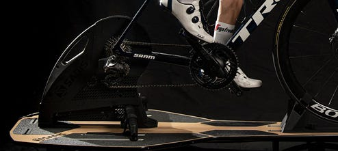 Bike trainers for indoor training