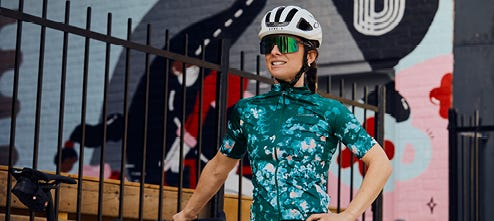 Cycling apparel for women