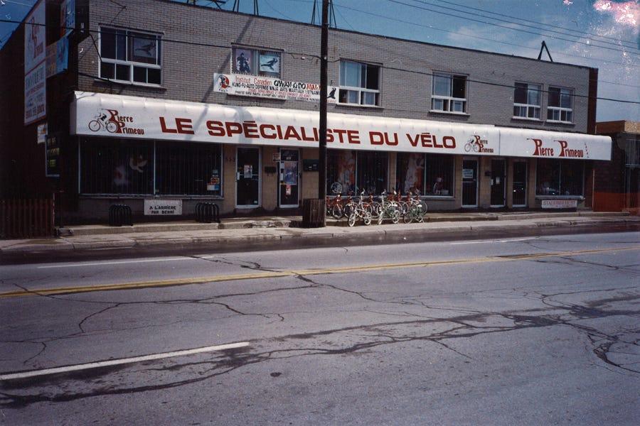 1990 - Primeau Vélo à Pont-Viau (Laval)
